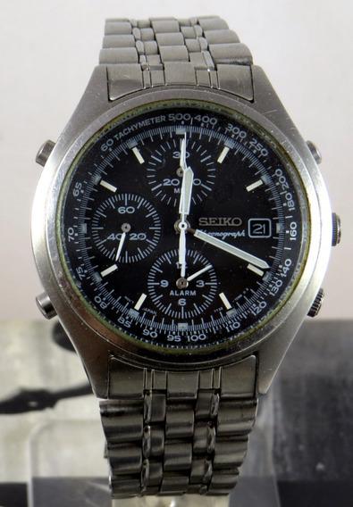 Seiko 7t32-7c60 Cronografo Quartz Anos 90 Antigo - Revisado
