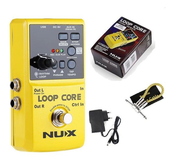 Pedal Loop Core Nux. Brinde Fonte Frete Gratis Imediato