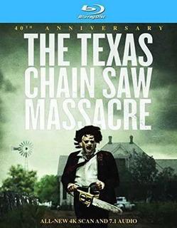 Blu-ray : The Texas Chain Saw Massacre (anniversary Edition)