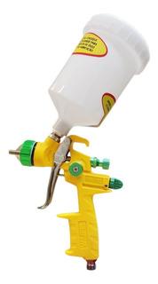 Pistola De Pintura Nylon Hvlp Mp-2012 1.4 Hvlp Wimpel Amarel