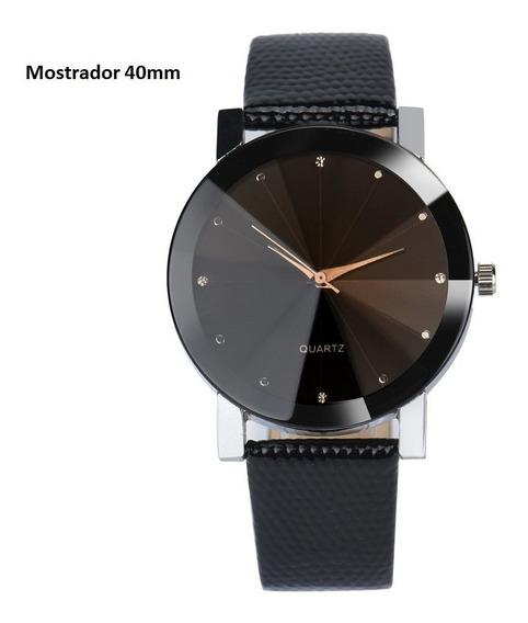 Relógio Unissex Analógico Quartz 40mm 1ram-10