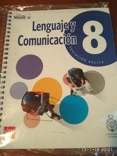 Libro Lenguaje Y Comunicación 8° Básico Ed. Sm