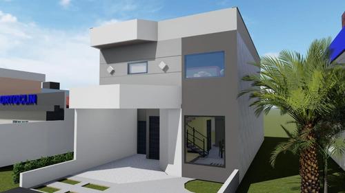 Imagem 1 de 7 de Casa Em Condomínio Para Venda Em Tremembé, Parque Santo Antônio, 3 Dormitórios, 1 Suíte, 2 Banheiros, 2 Vagas - So0057_1-1704111