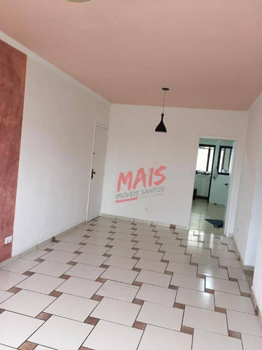 Apartamento Com 2 Dormitórios À Venda, 98 M² Por R$ 479.000,00 - Embaré - Santos/sp - Ap5626