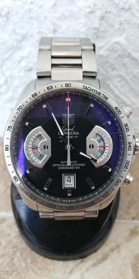 Reloj Tag Heuer Calibre 17. Acero Inixidable. Automatico