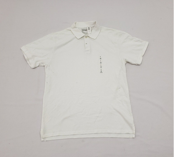 Playera Polo Old Navy Grande Blanca