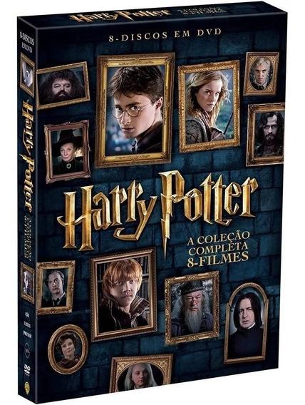 Coleção Harry Potter Dvd - 8 Filmes