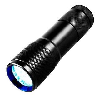 Linterna Uv Lampara Luz Ultravioleta Negra + Envío Gratis
