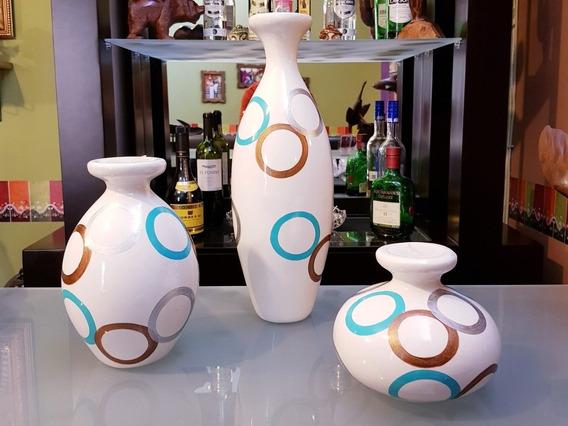 Jarrones Decorativos 3pzs Centro De Mesa Adorno Jar1