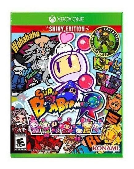 Jogo Super Bomberman R Shiny Edition - Xbox One Mídia Física