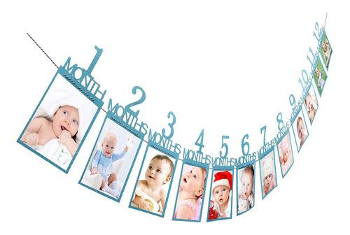 Imagen 1 de 6 de Decoraciones De Regalo De Cumpleaños Para Niños De 1 A 12 Me