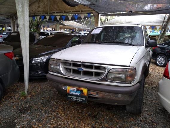 Ford Explorer Xlt 1997 Blanco 5 Puertas