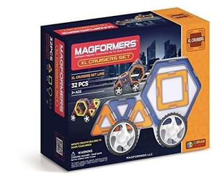 Magformers Xl Cruisers Set (32 Piezas) ( Los Colores Pueden