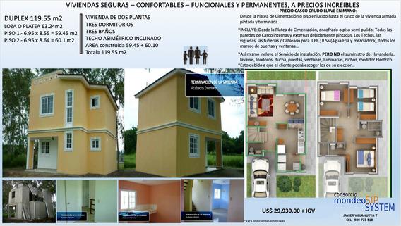Casas Prefabricadas Con Planchas Sip System Tipo Americanas