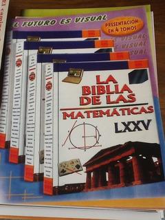 Biblia De Las Matemáticas De 4 Tomos