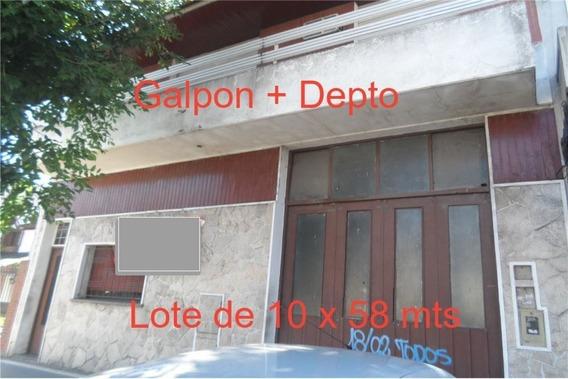 Deposito/lote 10x58 Mts+dpto 3 Amb P.alta Reciclar