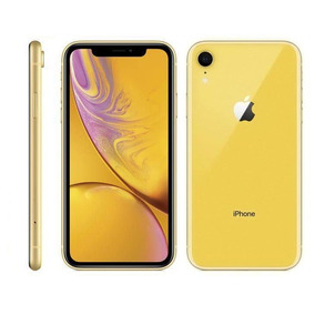 iPhone Xr Apple, Amarelo, 64gb, 6,1, Câmera 12mp- Mry72bz/a