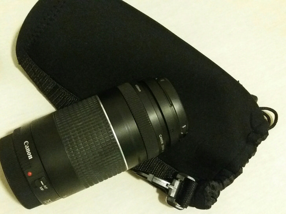 Lente Canon Original Semi Nova Super Zoom 75 300mm