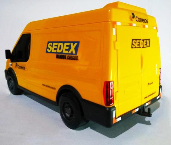 Novavan Sedex Correios Minivan Miniatura Brinquedo 1:24 Ivec