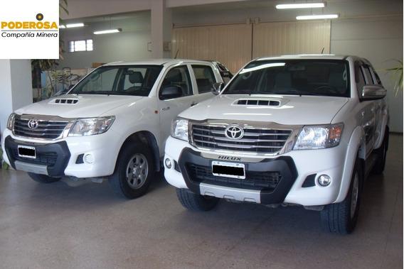 Toyota Hilux 4x4 2015 Equipada Al 100%