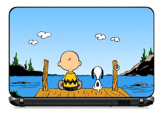 Adesivo Skin Notebook Personalizado Snoopy