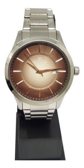 Relógio Masculino Daniel Klein Grande Social Original Nf