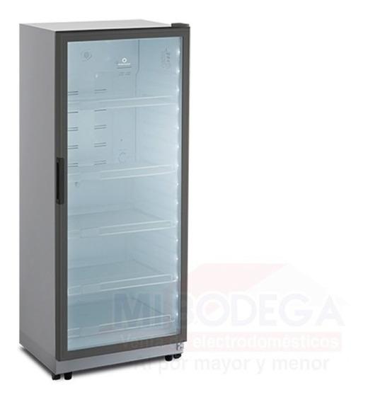 Refrigeradora Vitrina Panoramica Electrolux No Frost 440 Lts