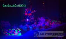 Alquiler De Luces Y Sonido Dj Neon Camara De Humo Vídeo Beam