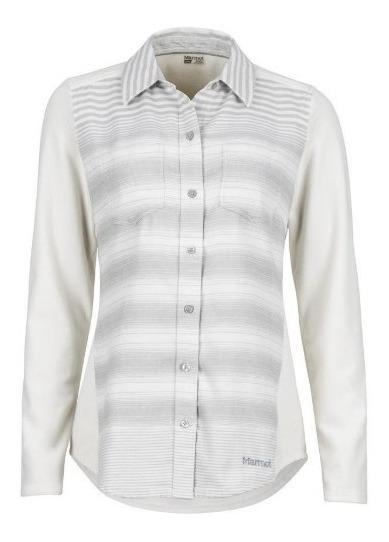 Camisa Marmot Mujer Lani Flannel Ls