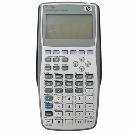 Calculadora Científica Hp Gráfica 39gs