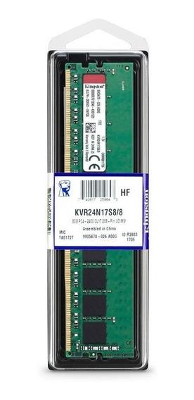 Memória Ram Kingston 8gb Ddr4 Pc4-2400 Cl17 288
