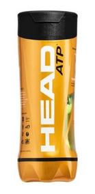 Bola De Tênis Head Atp Tubo Com 03 Unidades