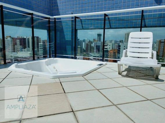 Apartamento Com 3 Dormitórios Para Alugar, 290 M² Por R$ 7.000,00/mês - Meireles - Fortaleza/ce - Ap0298