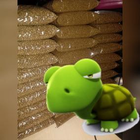 Ração Tartaruga Média 1kg Alimento Base Extrusada 2.5mm