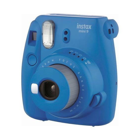Câmera Instax Mini 9 Azul Cobalto Com Filme - Fujifilm