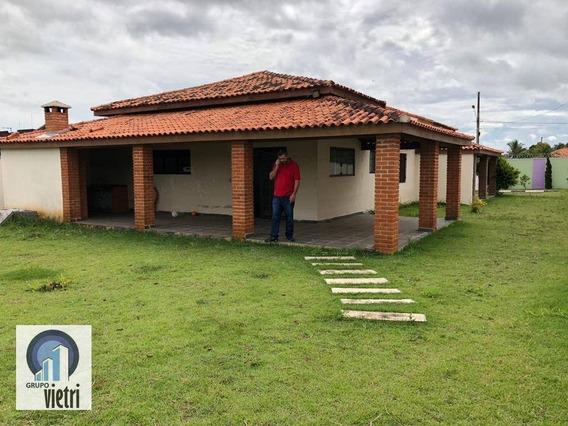 Chácara À Venda, 1000 M² Por R$ 350.000,00 - Residencial Ecopark - Tatuí/sp - Ch0243