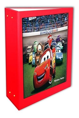 Álbum Os Carros Vermelho 15x21- 80 Fotos