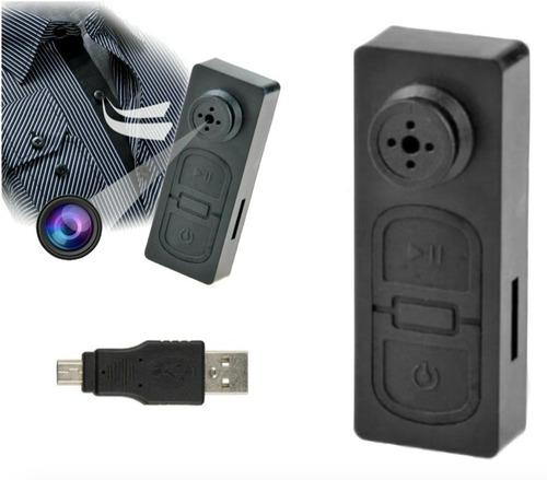 Botón Mini Cámara Espía Hd 1080p Videocámara Dvr Xtrem C