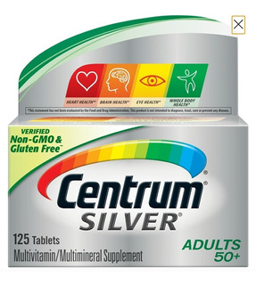 Enciclopedia Vitaminas Centrum Silver 50 +