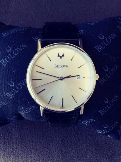 Relógio Bulova Masculino Modelo 96c130 Praticamente Novo