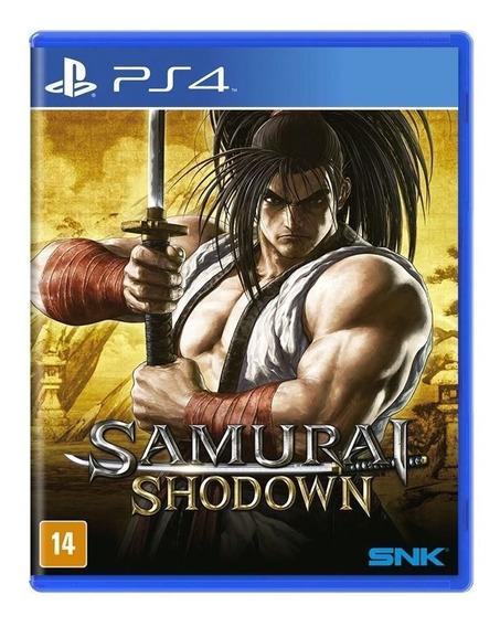 Jogo Ps4 Samurai Shadonw