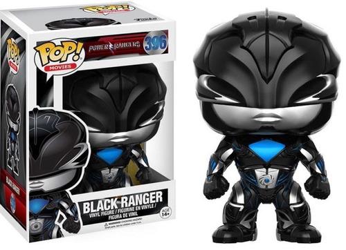Funko Pop! Movies. Power Rangers- Black Ranger 396