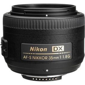 Lente Nikon Af-s Dx 35mm F/1.8g - Parasol/case - Nota Fiscal