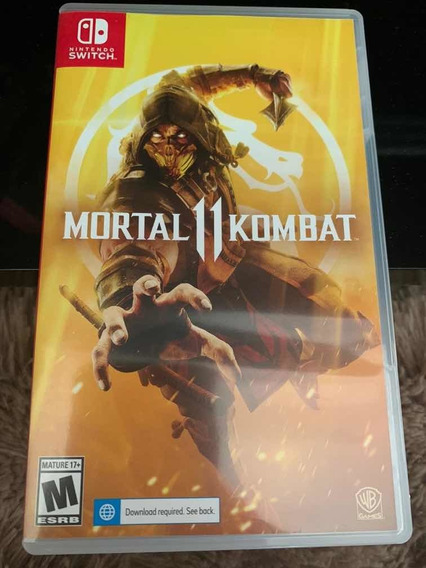 Jogo Mortal Kombat Nintendo Switch