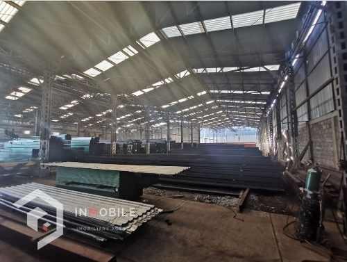 Nave Industrial En Chimalhuacan, Estado De México.