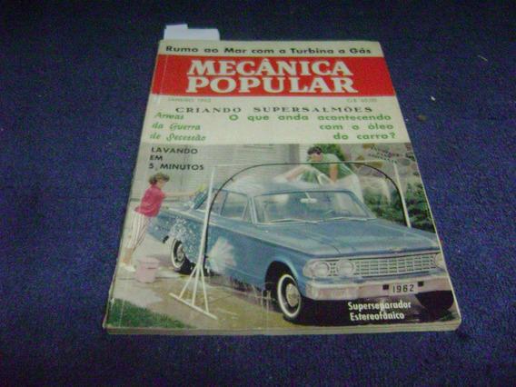 Revista Mecanica Popular - Jan/62 - Ii Salão Do Automovel