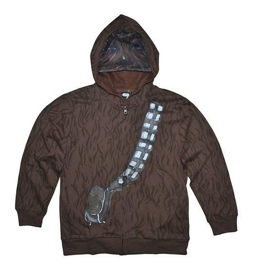 Star Wars Chewbacca Sudadera Chamarra Disney L Envío Gratis