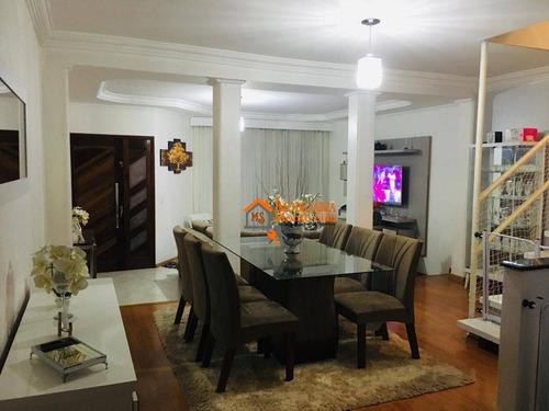 Sobrado Com 5 Dormitórios À Venda, 126 M² Por R$ 720.000,00 - Parque Flamengo - Guarulhos/sp - So0310