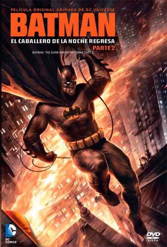 Imagen 1 de 1 de Dvd - Batman: El Caballero De La Noche Regresa Vol. 2