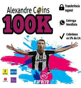 Fifa 19 Coins Ps4 100k Ultimate Team - Envio Imediato